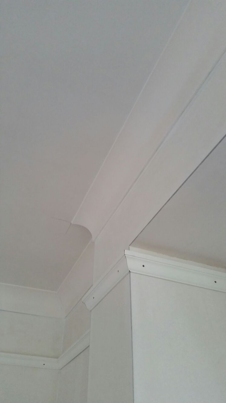 Lijstwerk plafond