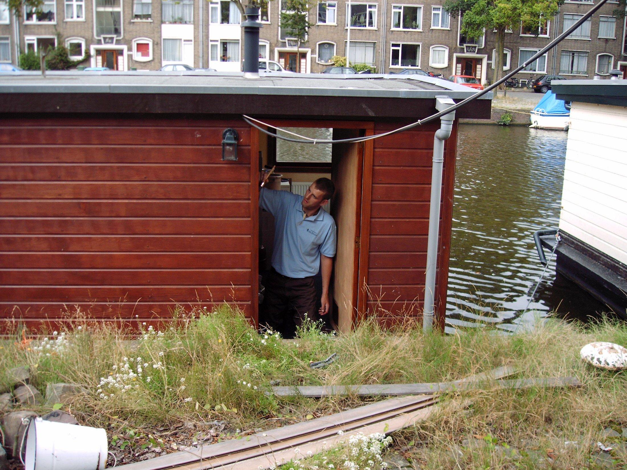 Restauratie woonboot