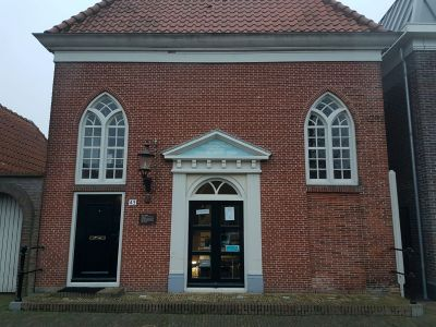 Houtrot in monument Medemblik